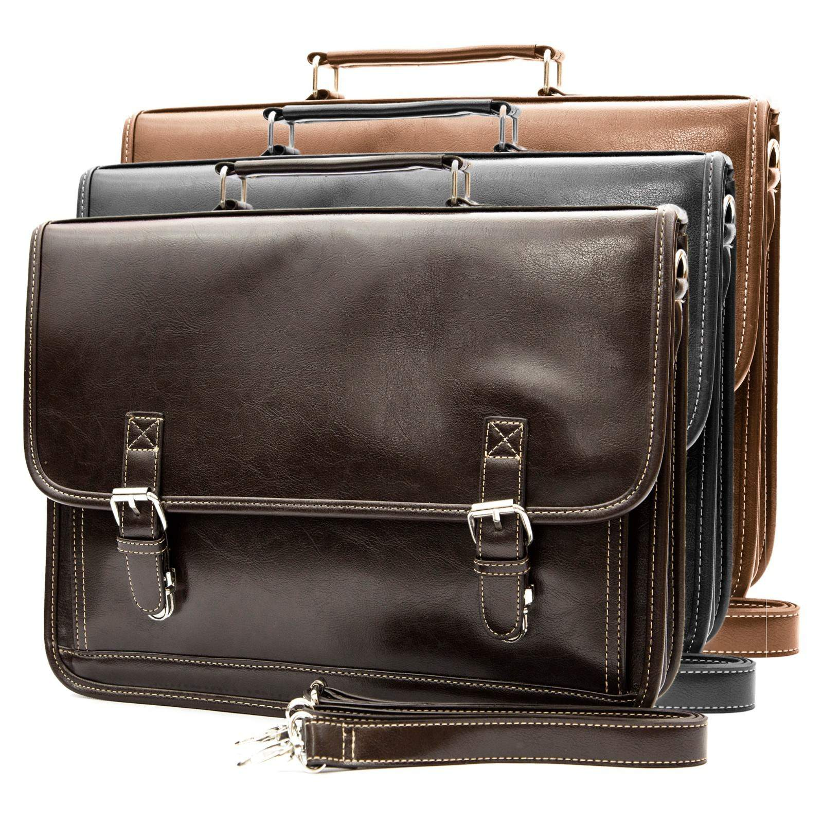 NEW Classic Vintage Men's Professional Business Briefcase ...